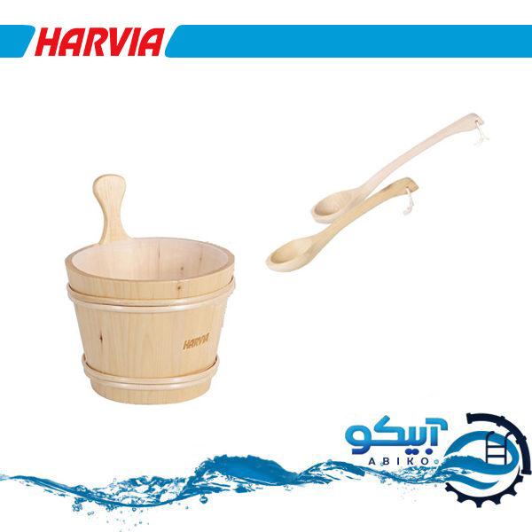 سطل چوبی سونا