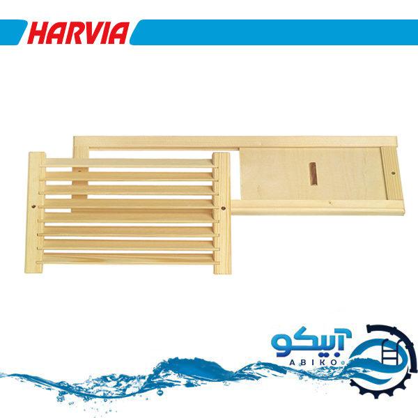 تهویه چوبی سونا خشک