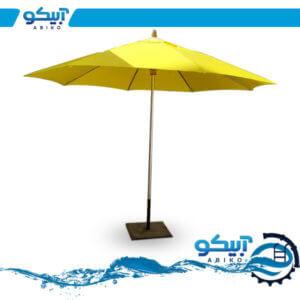چتر باغی، سایبان ضد آب، پایه استیل