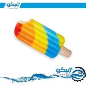 تشک شناور بادی طرح بستنی