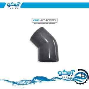 زانو UPVC چسبی وینوهیدروپول