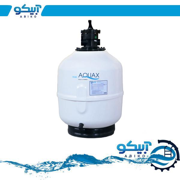 فیلتر تصفیه استخر و جکوزی AQUAX شیر از بالا